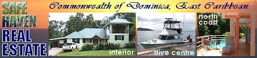 Safehaven Real Estate, based in and dedicated to Dominica