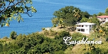Casablanca, oceanfront villa, mid west coast of Dominica